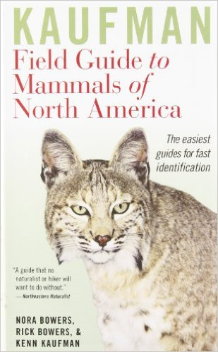 Field Guide Reviews for mammals, insects, reptiles, and amphibians for the  United States, Canada, and other regions around the world.